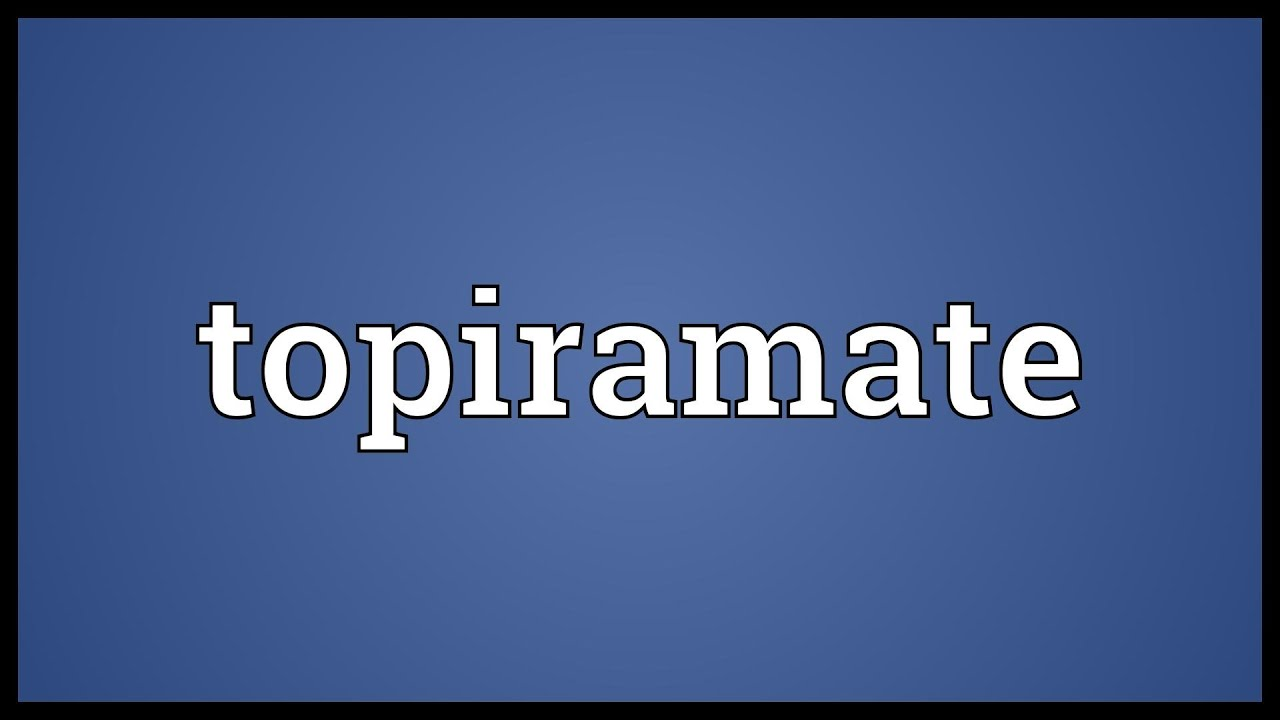 Hasil gambar untuk gambar Topiramate