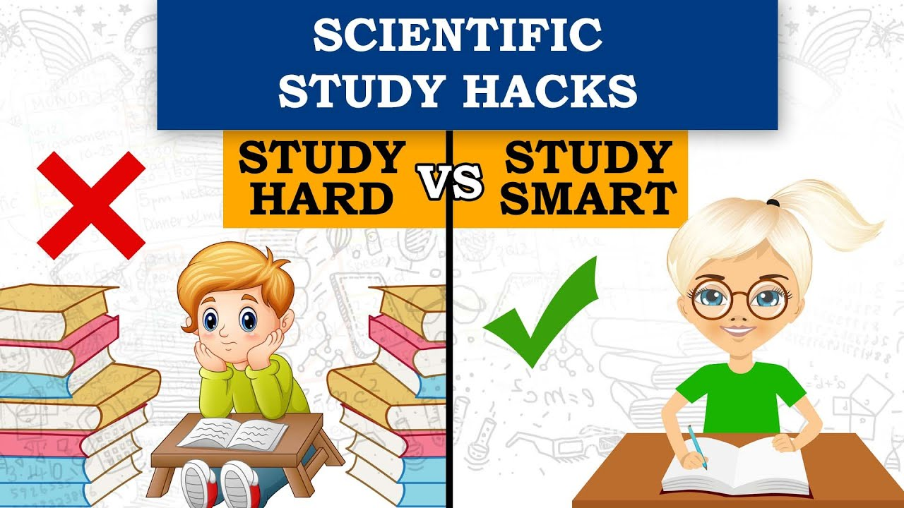 Scientific study Hacks| Study Hard vs Study SMART #ABetterlife #studyhacks