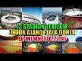 UPDATE! 12 Stadiun Terpilih Untuk Piala Dunia 2026 Jika Indonesia Terpilih Menjadi Tuan Rumah