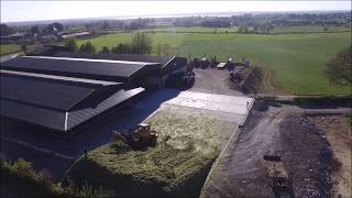 Silage 2017 - George Walshe Agri - 1st, 2nd & 3rd Cut - Drone Footage (HD)