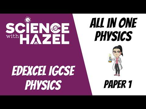 ALL of Edexcel IGCSE Physics 9-1 (2021) | PAPER 1 / DOUBLE AWARD | IGCSE Physics Revision