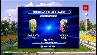Karpaty Lviv vs Veres full match