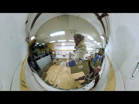 Space 360: Zero-gravity training onboard Il-76MDK flying laboratory