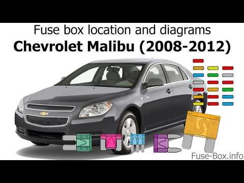 Fuse Box Location And Diagrams: Chevrolet Malibu (2008-2012)