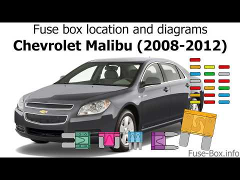 2008 to 2012 chevrolet malibu fuse box and relays youtube 2008 F150 Fuse Box 2 50