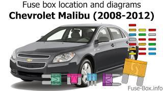 Fuse Box Location And Diagrams Chevrolet Malibu 2008 2012 Youtube