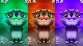 Baby Learn Colors with Talking Tom Funny Videos for Kids and Children Family Friendly Baby Songs