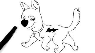 Comment dessiner Volt le chien