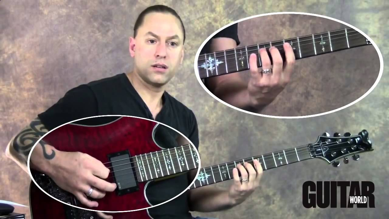 steve stine guitar lesson 1 important technique to learn speed picking youtube. Black Bedroom Furniture Sets. Home Design Ideas