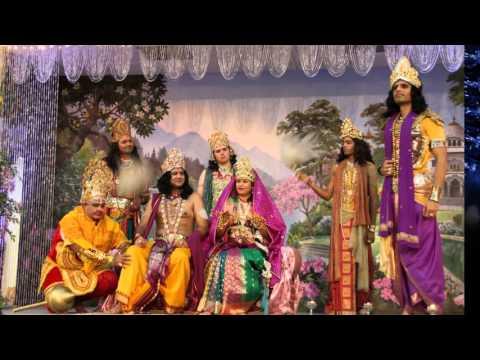 2015 Diwali and Govardhan Pooja at Radha Madhav Dham slideshow