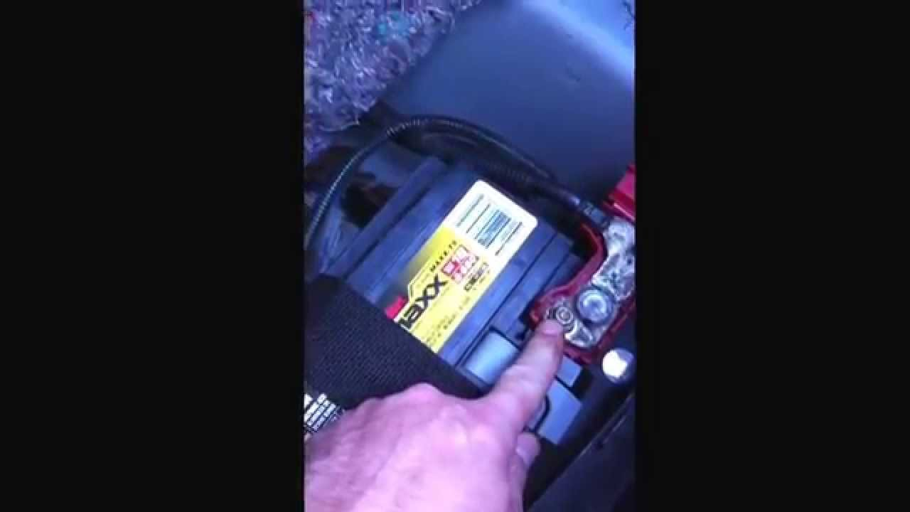 How To Change Battery 2005 Chevy Cobalt 2 2 Litre