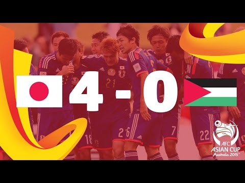 Japan vs Palestine: AFC Asian Cup Australia 2015 (Match 7)