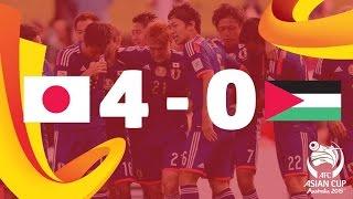 Video Gol Pertandingan Japan vs Palestine