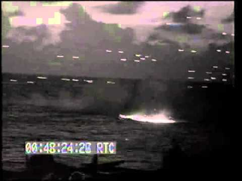 Japanese AIR ATTACK ON TASK FORCE 58: Japanese PLANES SHOT DOWN, USS WASHINGTON FIRES A.A. GUNS