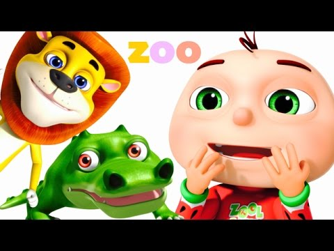 Thumbnail: Five Little Babies Went To A Zoo | Five Little Babies Collection | Zool Babies Fun Songs