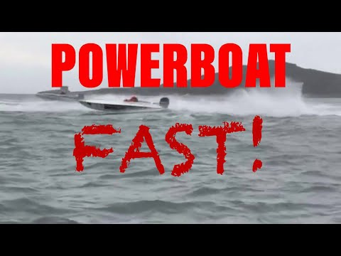 Offshore Powerboat Race At Howth