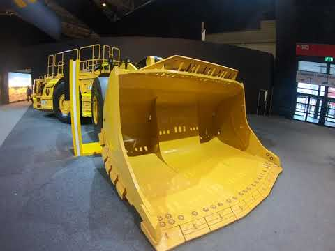 Caterpillar Underground Mining Machine