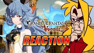 MAX REACTS: Granblue Fantasy Versus Trailer (New Arcsys Fighting Game)