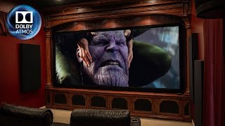 7.2.4 Dolby Atmos 4K Home Theater Tour