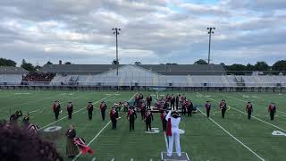 Colonel Richardson high school marching band (becoming Bond)