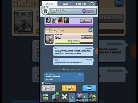 OPENING A SUPER MAGICAL CHEST CLASH ROYALE I Got A Legendary!!!