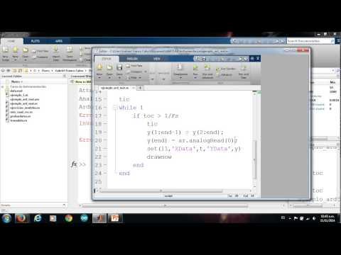 Matlab y Arduino (Adquisición de datos)
