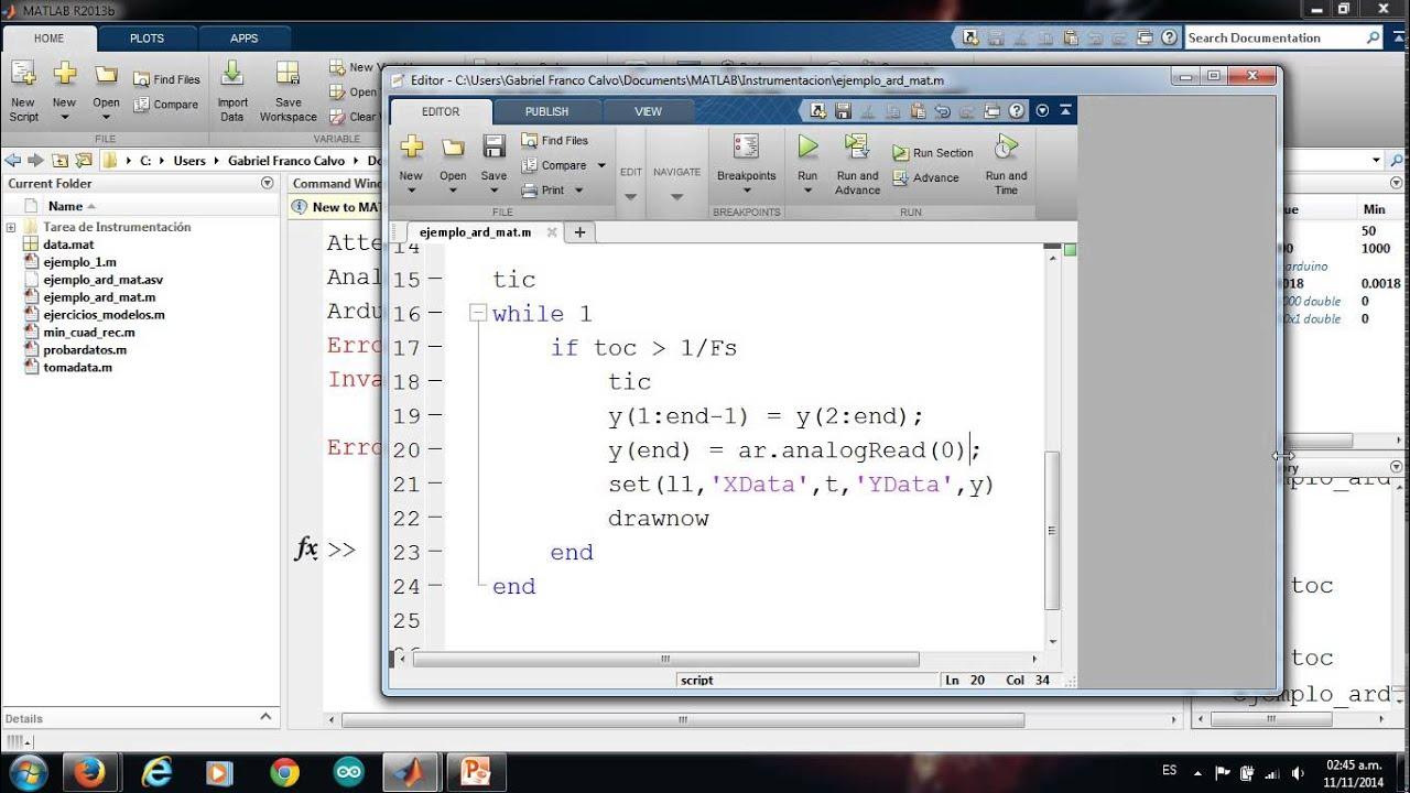 Matlab y arduino adquisición de datos doovi