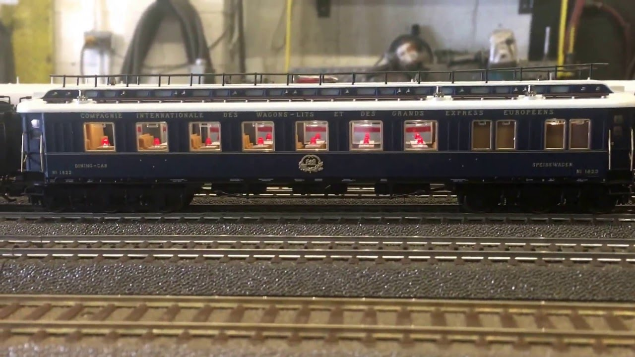 1928 orient express model train part 1 youtube for Orient mobel