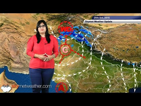 Weather Forecast for October 25, 2015 Skymet Weather