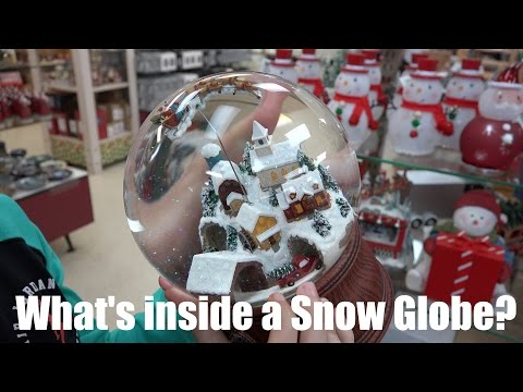 What's inside a Snow Globe?