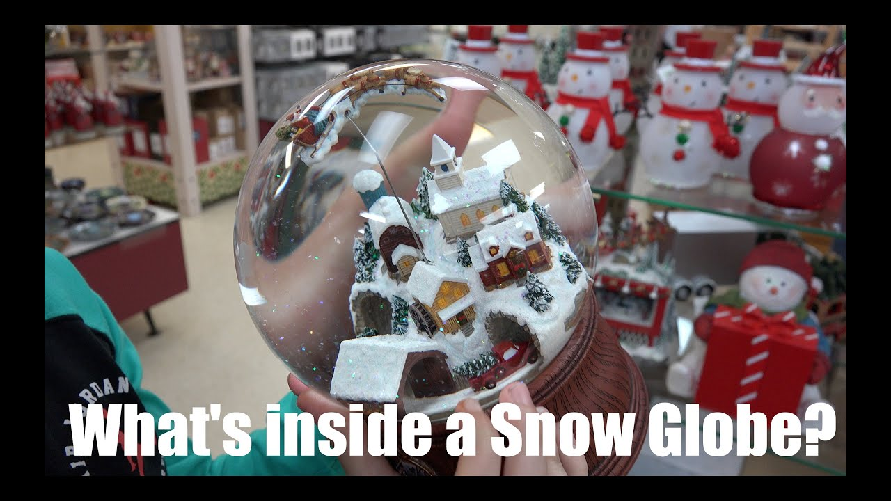 Whats Inside A Snow Globe Youtube