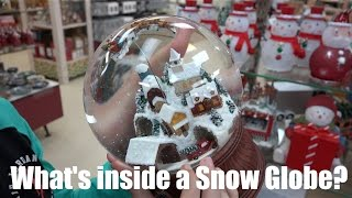 what s inside a snow globe