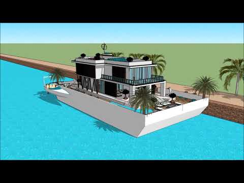International Yachting HOUSEBOATS AUCKLAND ON WATER BOAT SHOW 2018 UNITED STATES US HOUSEBOAT LIVING