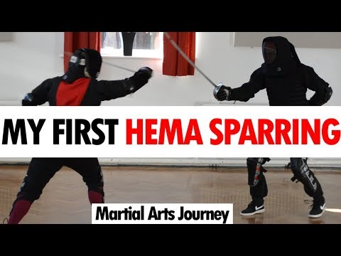 Ex Aikido Guy's First HEMA Sparring • Martial Arts Journey