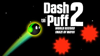WORLD RECORD MAZE OF MAYO DASH TILL PUFF 2! - Bycraftxx