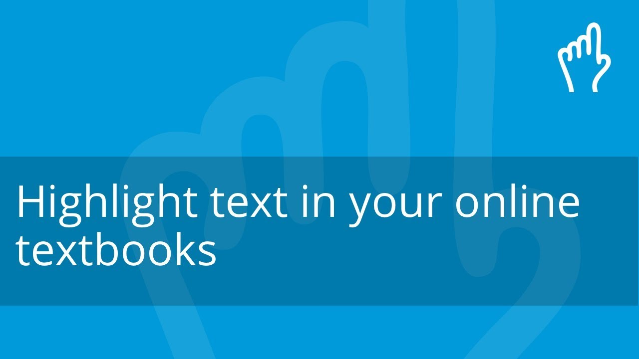 Classoos | Highlight text in your online textbooks