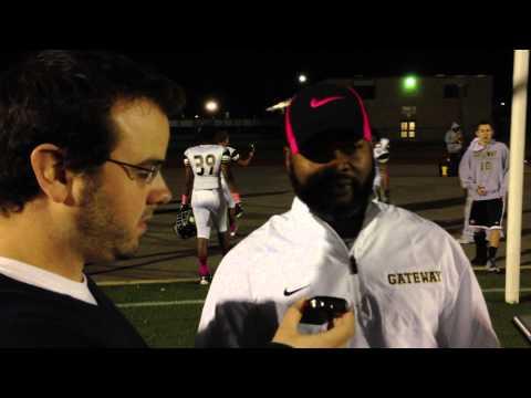 10-26-2012 Gateway Coach Terry Smith postgame interview