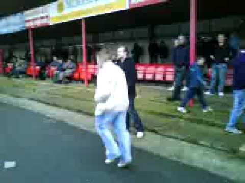 Boro fans at Bideford