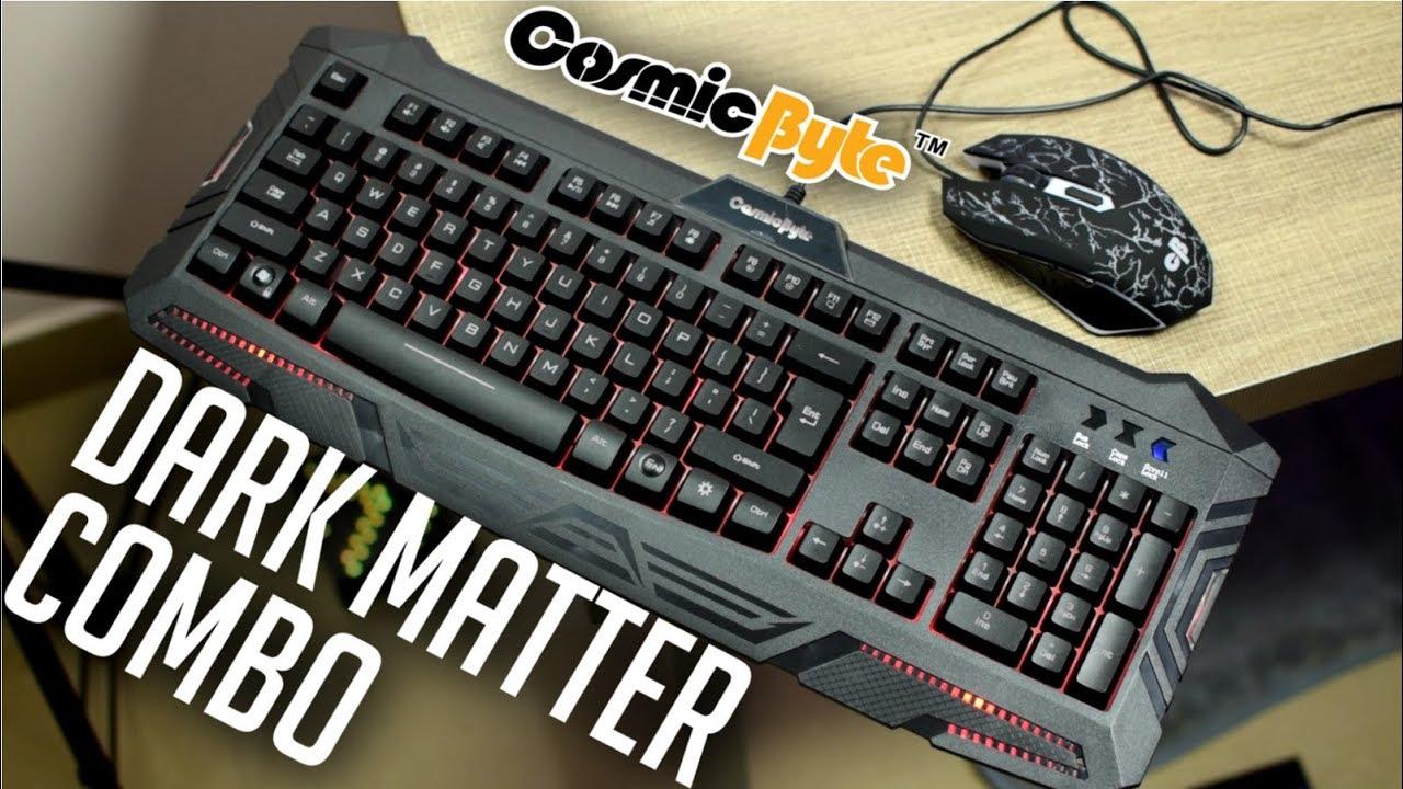 88b846366b9 Cosmic Byte Dark Matter V2 Combo - Budget by TECH MATRIX