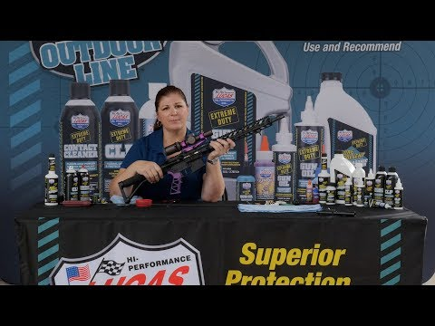 Lucas Oil Gear Care - AR15 Cleaning