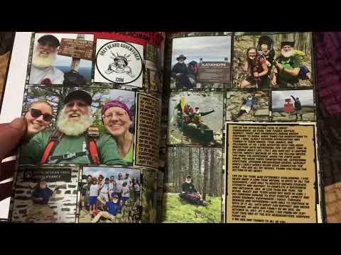2017 Hiker Yearbook opening