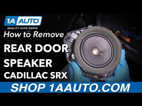 How to Replace Door Speaker 10-16 Cadillac SRX