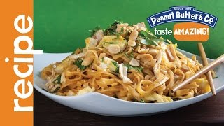 Peanut Butter Pad Thai Recipe