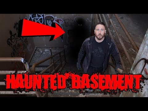 (UNCUT) HAUNTED BASEMENT IN MILITARY HOSPITAL - GHOSTLY SHADOW FIGURE! | OmarGoshTV