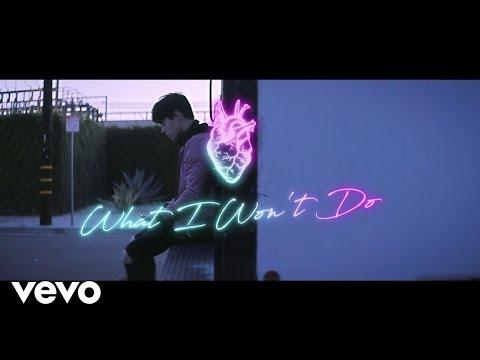 Leon Else - What I Won't Do (Lyric Video)