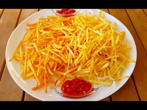 Evde Çıtır Patates