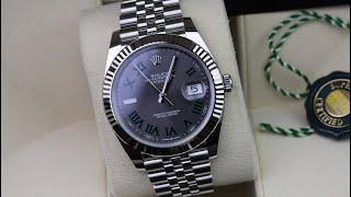Rolex Datejust 41 126334 Wimbledon Unboxing Video