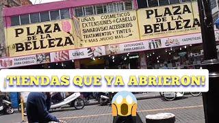 🤔 YA ABRIÓ LA PLAZA DE LA BELLEZA 💄 REPUBLICA  DE URUGUAY+ CORREGIDORA
