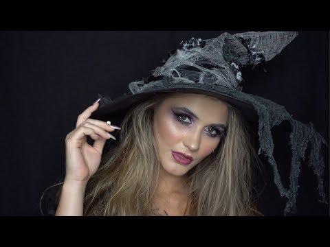 Witch Halloween makeup | DIY halloween | Easy Halloween looks