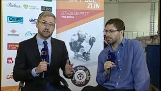 Zlín - Malmö, ČT sport, 8.9.2017 - celé utkání